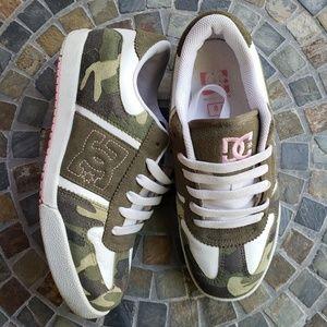 DC Shoe Company Camo Skateboard Sneakers